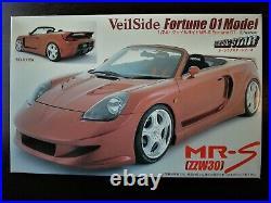 Uber Rare! Fujimi 1/24 VeilSide MR-S (ZZW30) Fortune 01 Model Steal