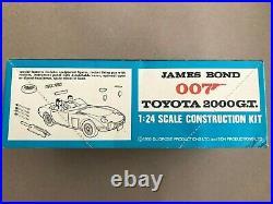 Vintage Airfix James Bond 007 Toyota 2000GT 124 Pattern 723 1968 Unused RARE