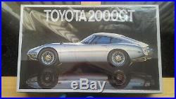 Vintage Fujimi 1/16 Toyota 2000GT model kit