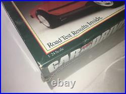 Vintage Revell 1/24 TOYOTA MR-2 MODEL KIT#7452 Car & Driver 1986 SEALED BOX RARE