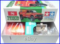 Vintage TAMIYA 1/32 Toyota Hilux 4WD TOYOTA 4X4 PICKUP MINI 4WD NO. 3 RERA