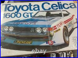 Vintage Toyota Celica 1600 GT 1/20 scale VERY RARE STILL SEALED LOOK FREE SHIPPI