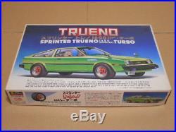 Vintage Toyota Corolla Trueno liftback 1/24 model kit Rare discontinued