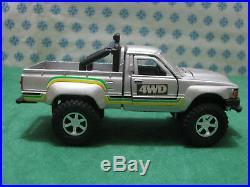 Vintage Toyota Hilux 4WD 1/40 T-38 Diapet Yonezawa toys N° 01676