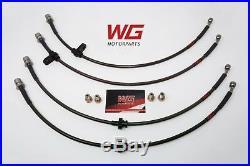 WG Braided Brake Line Kit for Toyota MR2 1.8L (1999-07) Models
