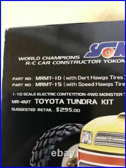 Yokomo 1/10 RC MR-4MT Master Truck Toyota Tundra Model Kit from Japan