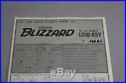 ZF1372 Imai 1/20 maquette voiture B-1013 Toyota Blizzard LD10-KSY with Roof